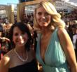 Robin Levinson with Heidi Klum